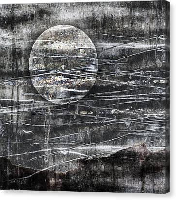 Winter Moon Canvas Print by Carol Leigh