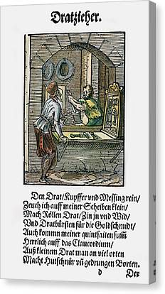 Drawers Canvas Print - Wiredrawer, 1568 by Granger