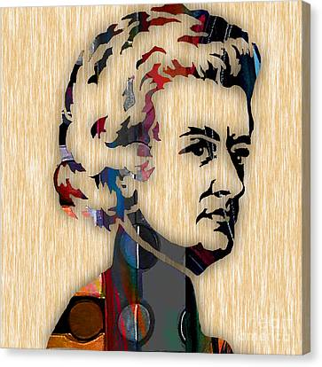 Wolfgang Amadeus Mozart Collection Canvas Print by Marvin Blaine