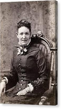 Women's Fashion, 1880s Canvas Print by Granger