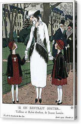 Women's Fashion, 1920 Canvas Print by Granger