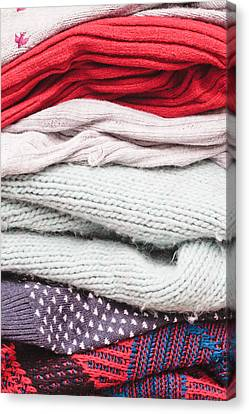 Wool Jumpers  Canvas Print by Tom Gowanlock