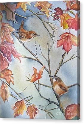 Wren To Wren Canvas Print