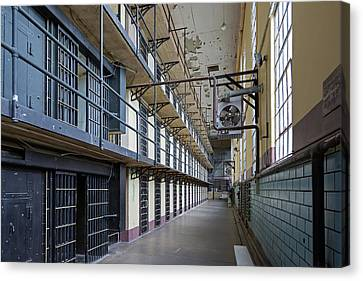 Wyoming Frontier Prison Canvas Print by Jim West