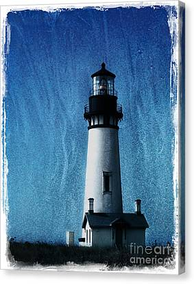 Yaquina Head Lighthouse Canvas Print by Elena Nosyreva