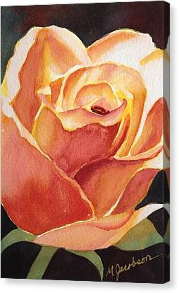 Canvas Print - Yellow Rose by Marilyn Jacobson