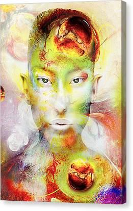Yellow Canvas Print by Yosi Cupano