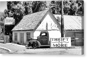 Yermo Thrift N More Canvas Print by Patricia Januszkiewicz