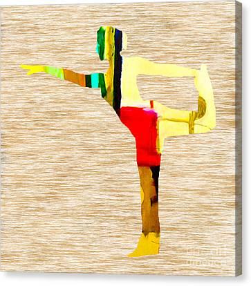 Yoga Canvas Print by Marvin Blaine
