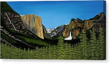 Yosemite Canvas Print by Clinton Cheatham