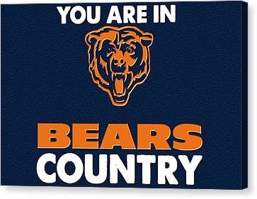 You Are In Bears Country Canvas Print