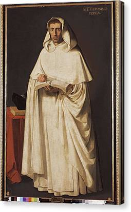 Zurbaran, Francisco De 1598-1664. Fray Canvas Print