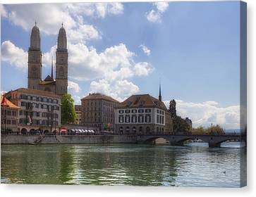 Zurich Canvas Print by Joana Kruse