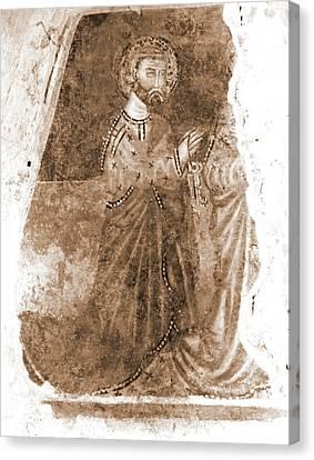 Abruzzo, Pescara, Penne, Palazzo Vescovile, Museo Canvas Print by Litz Collection