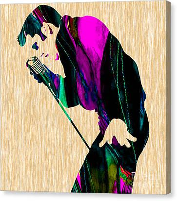 Elvis Presley Canvas Print by Marvin Blaine