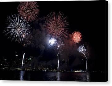 Fireworks Canvas Print by Gary Marx