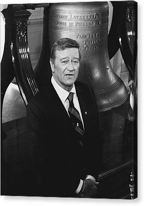 John Wayne Canvas Print by Retro Images Archive