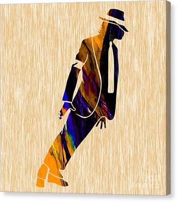 Jackson 5 Canvas Print - Michael Jackson  by Marvin Blaine