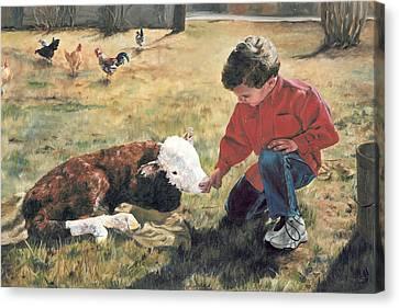 20 Minute Orphan Canvas Print by Lori Brackett
