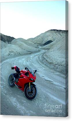 20 Mule Team Canyon Canvas Print by AntiHero Panigale