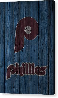 Philadelphia Phillies Canvas Print by Joe Hamilton