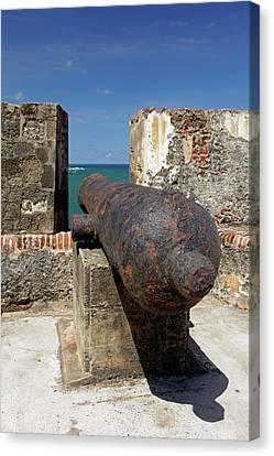 Usa, Puerto Rico, San Juan Canvas Print by Kymri Wilt