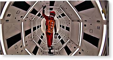2001 A Space Odyssey Canvas Print