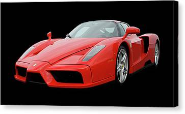 2002 Enzo Ferrari 400 Canvas Print by Jack Pumphrey