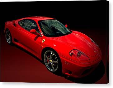 2004 Ferrari 360 Modena Canvas Print by Tim McCullough