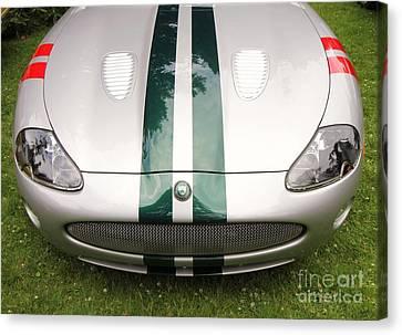 2005 Jaguar Xkr Stirling Moss Signature Edition Canvas Print by Allen Beatty