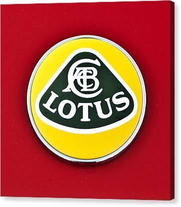 2006 Lotus Emblem -0014c Canvas Print by Jill Reger