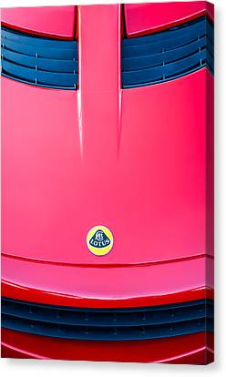 2006 Lotus Grille Emblem -0006c Canvas Print by Jill Reger