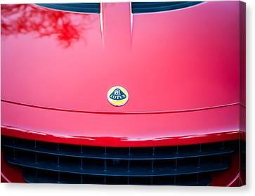 2006 Lotus Grille Emblem -0012c Canvas Print by Jill Reger