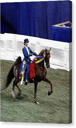 2008 World Champions Canvas Print - 2008-b-world Championship Horseshow - Louisville Ky by Thia Stover