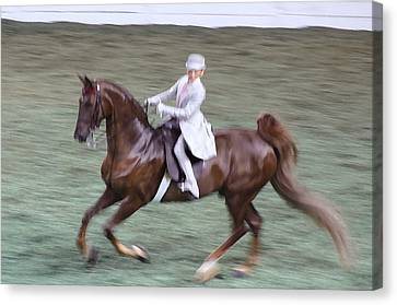 2008 World Champions Canvas Print - 2008-h World Championship Horse Show - Louisville Ky by Thia Stover