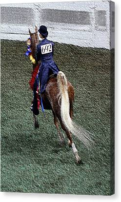 2008 World Champions Canvas Print - 2008-jj World Championship Horse Show - Louisville Ky by Thia Stover