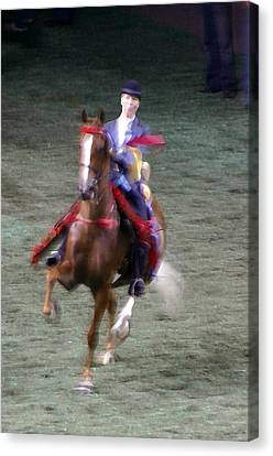 2008 World Champions Canvas Print - 2008-k World Championship Horse Show - Louisville Ky by Thia Stover