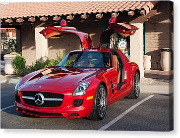 2012 Mercedes-benz Sls Gullwing Canvas Print