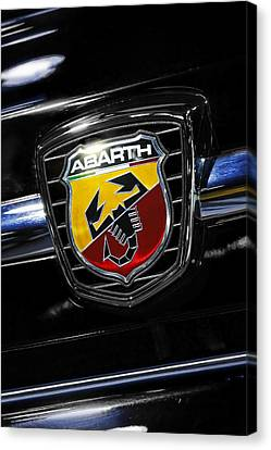 2013 Fiat 500 Abarth Canvas Print by Gordon Dean II