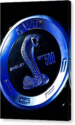 2013 Ford Mustang Shelby Gt 500 Canvas Print by Gordon Dean II