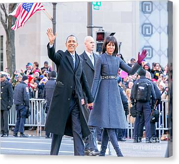 2013 Inaugural Parade Canvas Print