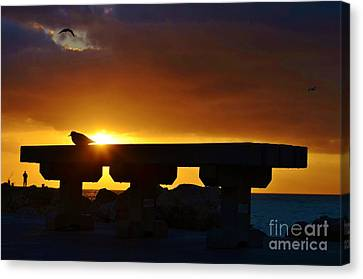 2013 - Rising To A New Benchmark Canvas Print