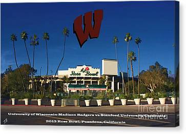 2013 Rose Bowl Pasadena Ca Canvas Print by Tommy Anderson