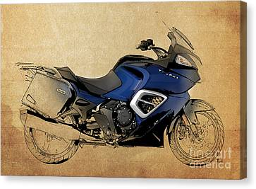 2013 Triumph Trophy Canvas Print by Pablo Franchi
