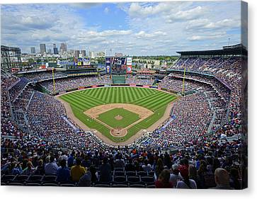 2013 Turner Field Canvas Print by Mark Whitt