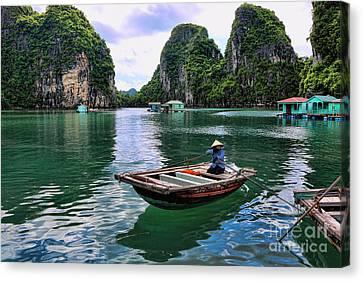 2014 Ha Long Bay  Canvas Print