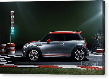 2014 John Cooper Works Mini Cooper  Canvas Print