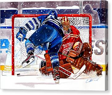 2014 Winter Classic Canvas Print by Dave Olsen