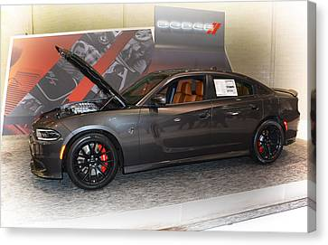 2015 Dodge Charger Srt Hellcat Canvas Print