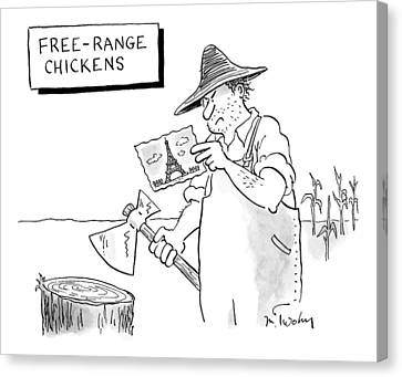 New Yorker April 20th, 2009 Canvas Print